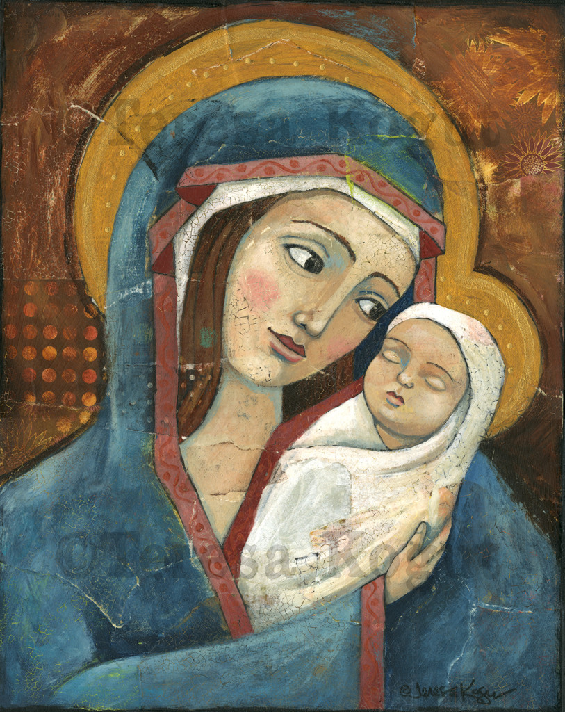 4039-Madonna & Child