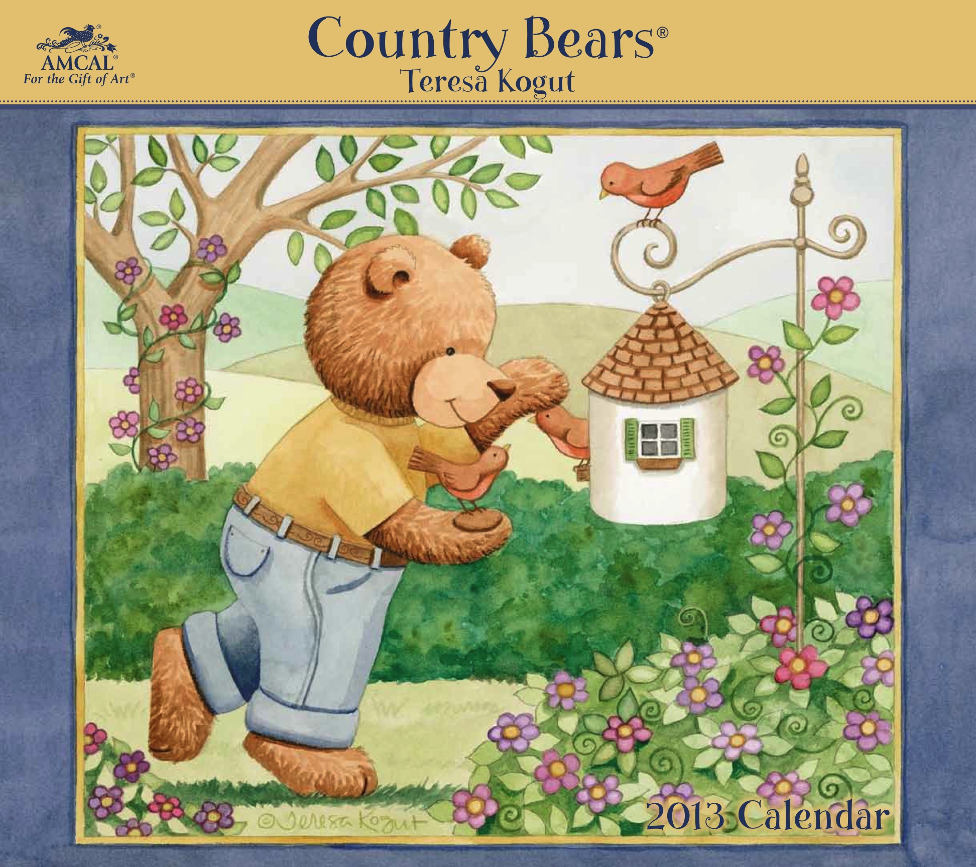 calendar, teddy bear, teresa kogut