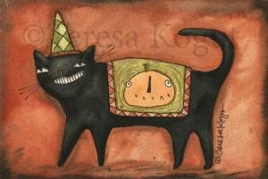 3334-Prowlin Cat