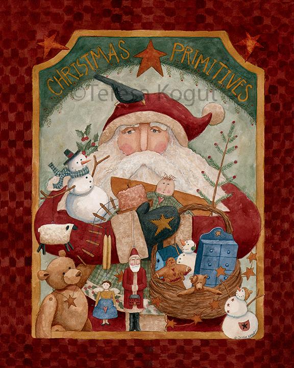 568-Christmas Primitives 8x10