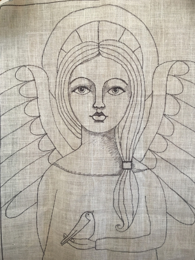 Angelic Vision rug pattern