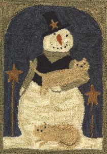 PN016-Snowman wcats