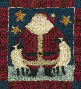PN042-Patriotic Santa