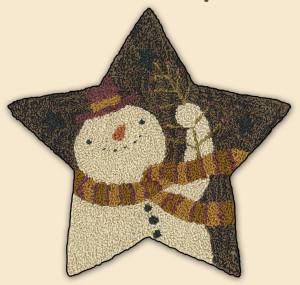 PN149 - Star Snowman