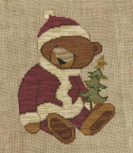 Santa Bear done