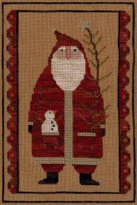XS062- Primitive Santa