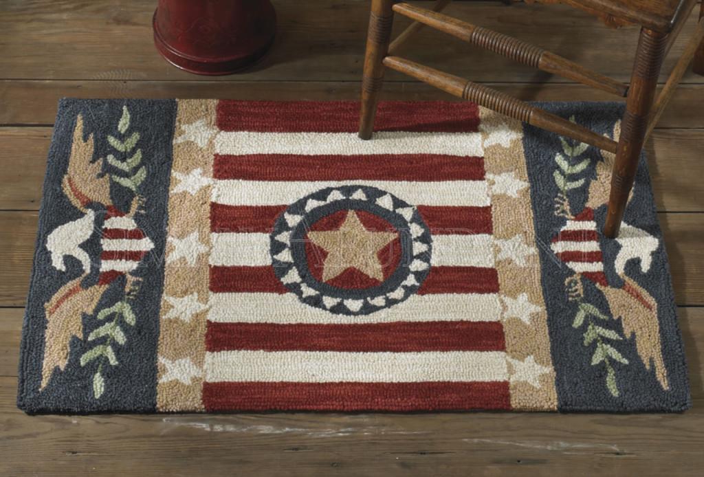 Patriots point rug