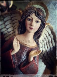 Demdaco Silvestri rejoice angel figure