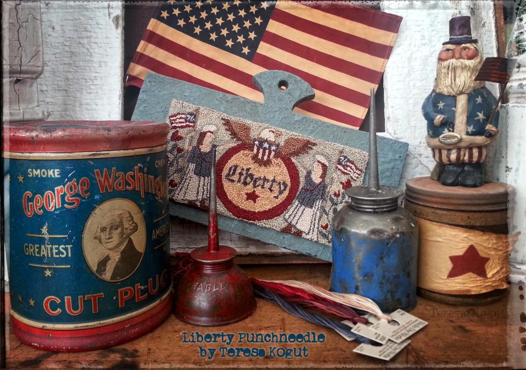 Liberty Punchneedle 2015