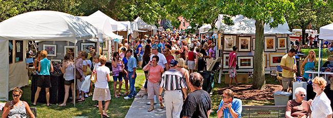 Ann Arbor Street Fair Food Vendors